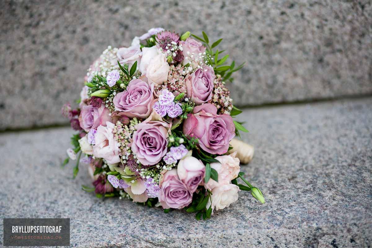 brudebuketten bryllup svendborg