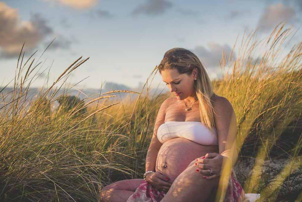 gravid fotografering udendørs Svendborg