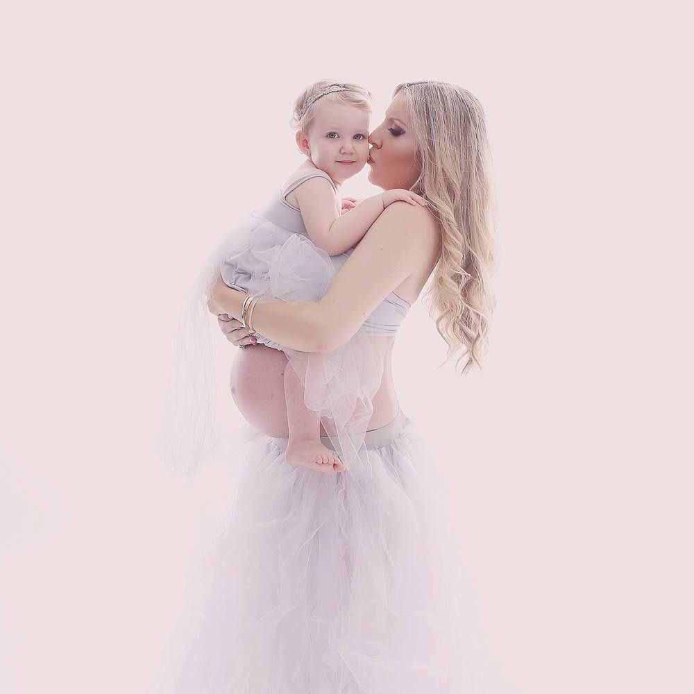 kjole til gravid fotografering Svendborg
